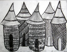 Village d'Afrique