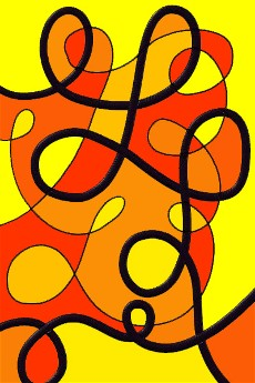 Exceptionnel Arts Visuels Ecole PS MS GS CP CE1 CE2 CM1 CM2 : lignes épaisses  AC52