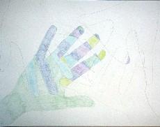 une main chaude une main froide