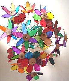 Coloriage Fleur Ms.Arts Visuels Ecole Ps Ms Gs Cp Ce1 Ce2 Cm1 Cm2 Fleurs En 3d